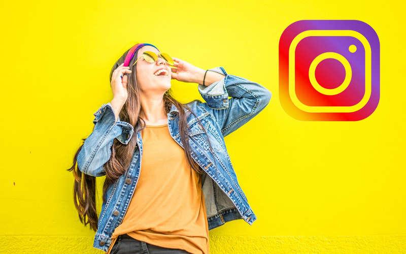 virando uma influenciadora no instagram